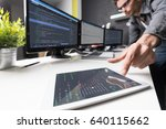 developing programming and... | Shutterstock . vector #640115662