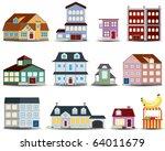 real estate vector icon | Shutterstock .eps vector #64011679