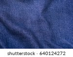blue jeans background  jeans... | Shutterstock . vector #640124272