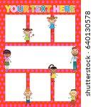 vector brochure backgrounds... | Shutterstock .eps vector #640130578