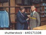 young businessman in atelier | Shutterstock . vector #640171108