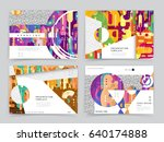 templates for cover design | Shutterstock .eps vector #640174888