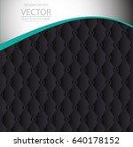 banner polygonal geometric...   Shutterstock .eps vector #640178152