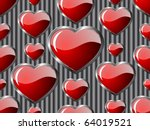 hearts seamless background  ...