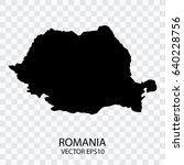 transparent   vector black map... | Shutterstock .eps vector #640228756