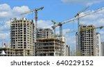 construction site. big... | Shutterstock . vector #640229152
