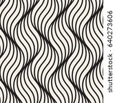 seamless pattern with geometric ... | Shutterstock .eps vector #640273606
