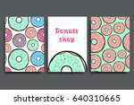 poster vector template with... | Shutterstock .eps vector #640310665