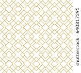 modern stylish seamless... | Shutterstock .eps vector #640317295