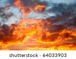 fire in the sky | Shutterstock . vector #64033903