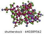 molecular structure of... | Shutterstock . vector #640389562