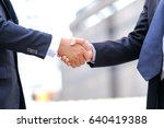 closeup image of businesspeople ... | Shutterstock . vector #640419388