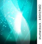 shiny glittering vector... | Shutterstock .eps vector #640419682