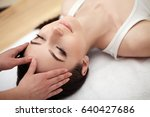 body care. spa woman. beauty... | Shutterstock . vector #640427686