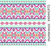 vector seamless texture.... | Shutterstock .eps vector #640441972