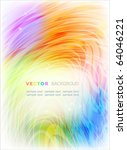 abstract colorful background.... | Shutterstock .eps vector #64046221