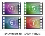 vector illustration of film... | Shutterstock .eps vector #640474828