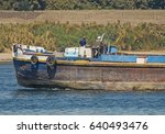 Old Traditional Barge Boat...