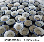 small porcelain cups