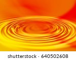 colorful ripple background | Shutterstock . vector #640502608