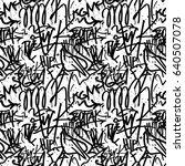 vector tags seamless pattern....   Shutterstock .eps vector #640507078
