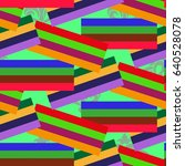 endless abstract pattern.... | Shutterstock .eps vector #640528078