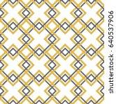 geometric seamless pattern | Shutterstock .eps vector #640537906