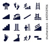 step icons set. set of 16 step...   Shutterstock .eps vector #640543906