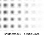 abstract halftone dotted... | Shutterstock .eps vector #640560826