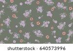 seamless folk pattern in small...   Shutterstock .eps vector #640573996