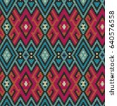 mexican pattern | Shutterstock . vector #640576558
