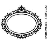 decorative frame | Shutterstock .eps vector #64059622