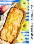 Homemade Apple Bread With...
