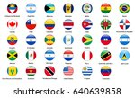 flags of all countries of the... | Shutterstock .eps vector #640639858