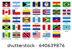 flags of all countries of the... | Shutterstock .eps vector #640639876