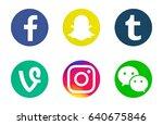 valencia  spain   may 09  2017  ... | Shutterstock . vector #640675846