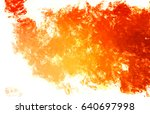 brushed painted abstract... | Shutterstock . vector #640697998