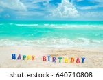 "Sign ""happy Birthday"" On The..."