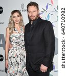 Small photo of LOS ANGELES - MAY 06: Sean Parker and Alexandra Lenas arrives for the Kaleidoscope 5 on May 6, 2017 in Culver City, CA