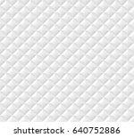 white seamless vector  pattern... | Shutterstock .eps vector #640752886