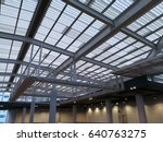 roof structure   glass roof | Shutterstock . vector #640763275