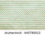 old retro pattern on grungy... | Shutterstock . vector #640780012