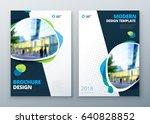 brochure template layout design.... | Shutterstock .eps vector #640828852