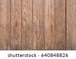 old wood texture background.... | Shutterstock . vector #640848826