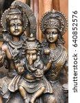 vijayanagar period bronze...   Shutterstock . vector #640852576
