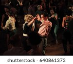 torino  march 20  2017. swing... | Shutterstock . vector #640861372