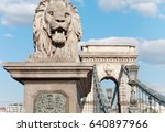 budapest  hungary. sculpture of ... | Shutterstock . vector #640897966