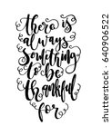 there is something to be ... | Shutterstock .eps vector #640906522