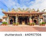 changhua  taiwan january 14 ... | Shutterstock . vector #640907506