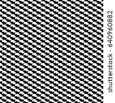 black and white arrows seamless ... | Shutterstock .eps vector #640960882